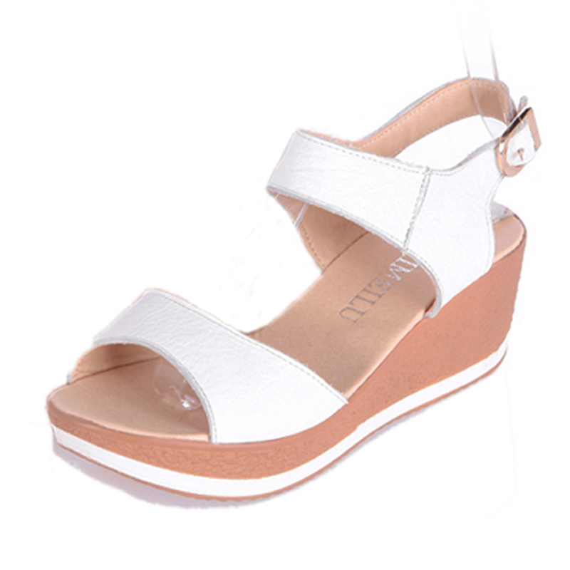 aliexpress buy fashion genuine leather sandals