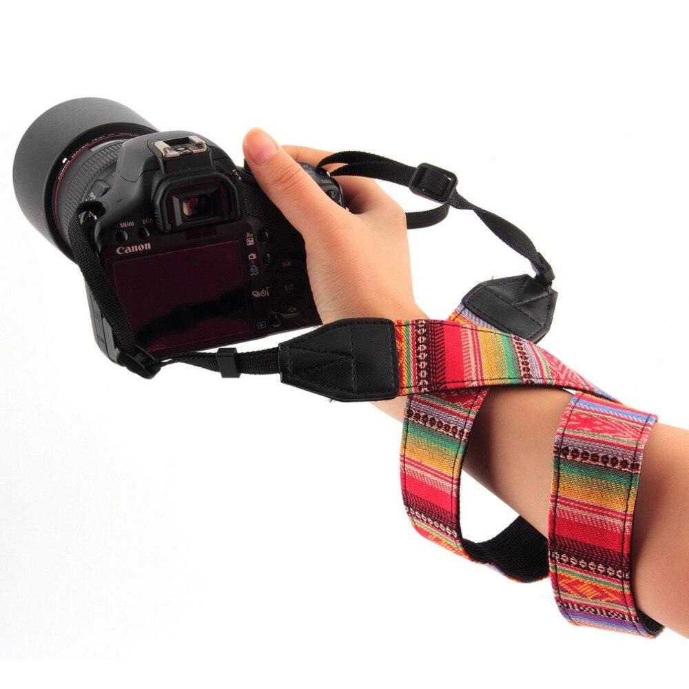 Universal Vintage Camera Shoulder Neck Strap For Nikon Canon Sony Panasonic SLR DSLR