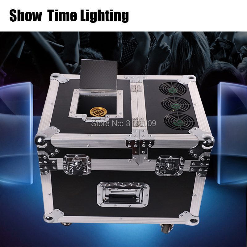 Easy use 600W Professional Haze Machine Dual <font><b>Hazer</b></font> Machine <font><b>Fog</b></font> Smoke Machine DMX512 With Flight Case Stage Machine Effect image