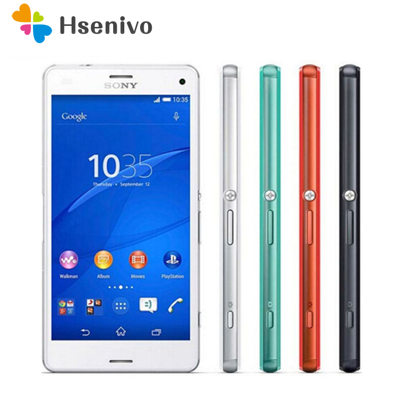 100% Original Sony Xperia Z3 Compact D5803 GSM 4G LTE Android Cell Phone Quad-Core 2GB RAM 16GB ROM 4.6 WIFI GPS 2600mAh Battery100% Original Sony Xperia Z3 Compact D5803 GSM 4G LTE Android Cell Phone Quad-Core 2GB RAM 16GB ROM 4.6 WIFI GPS 2600mAh Battery