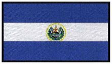 "El Salvador bendera bordir patch 3 ""lebar/patchs/logo/parche(China)"