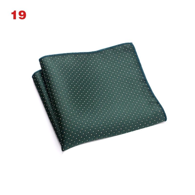 Vintage Men British Design Floral Print Pocket Square Handkerchief Chest Towel Suit Accessories KNG88