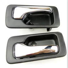 A Pair 2 PCS Left and Right Inside Door Handle for 1990-1993 Honda NO.4 Accord Car