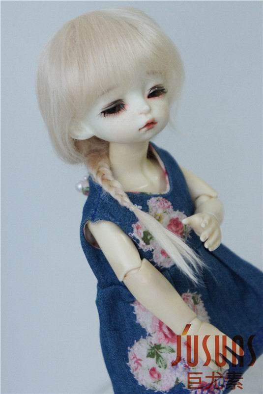 JD211 1/6 YOSD perruque poupée mohair Froz caractère perruques BJD - Poupées et accessoires - Photo 5