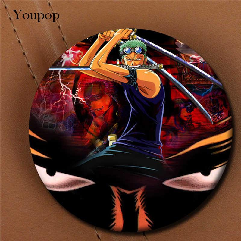 Youpop одна деталь Roronoa Зоро брошь в стиле аниме булавки значок аксессуары для одежды шляпа украшение для рюкзака Мужчины Женщины мальчик девочка XZ0351