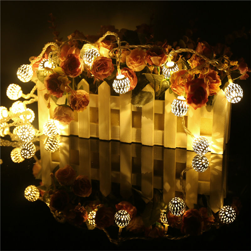 Aliexpress.com : Buy New Year Garland Led Christmas Lights Outdoor ...