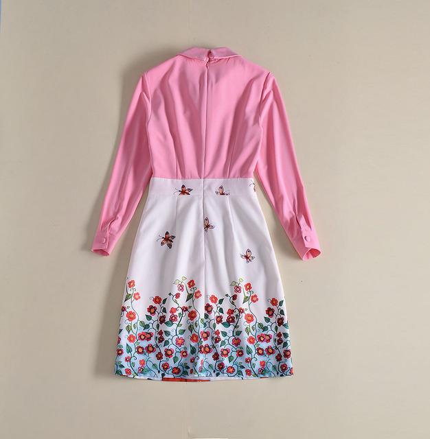 Character Patterns Print Sweet Cute Dress