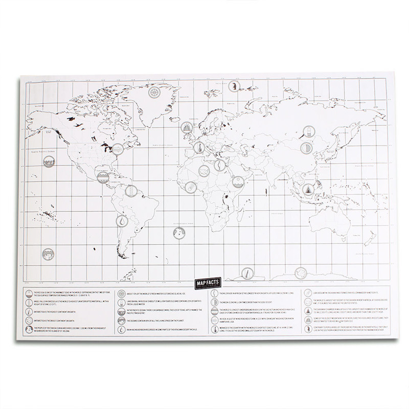 New deluxe travel edition scratch off world map poster personalized new deluxe travel edition scratch off world map poster personalized journal map in wall stickers from home garden on aliexpress alibaba group gumiabroncs Choice Image