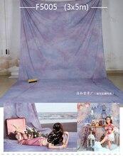 3×6 m casamento feitas à mão Tye Die-retrato fotográfico Pano de Fundo de Musselina, photocall para bodas, família estúdio foto fundos F5005
