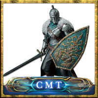 CMT Original TOEI Sticker BANPRESTO Original Dark Souls II Sculpt Colletction DXF VOL 1 Faraam Knight