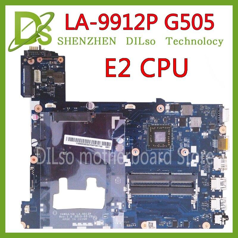 KEFU LA-9912P laptop motherboard for Lenovo ideapad g505 LA-9912P laptop motherboard E2 CPU Test motherboardKEFU LA-9912P laptop motherboard for Lenovo ideapad g505 LA-9912P laptop motherboard E2 CPU Test motherboard