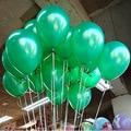 10 шт. Зеленый Воздушный шар Латекса Надувные Шары 1.5 г Свадьба Украшения День Рождения Малыша Float Шары Дети Toys TD0014GN