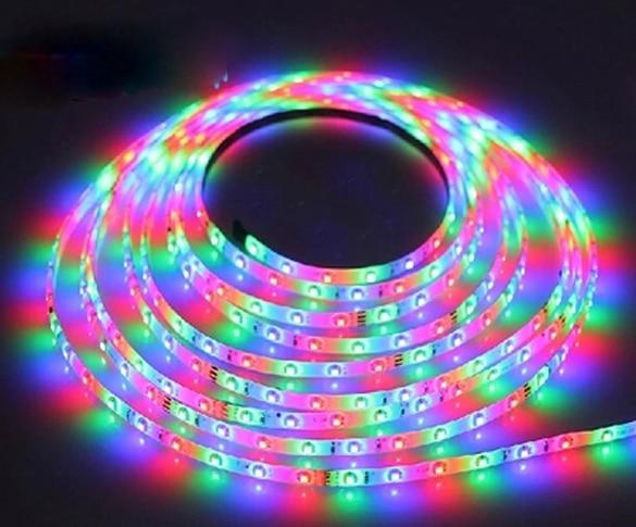 Fatory Direct Sale 60LEDs/M Waterproof LED tape 2835 SMD 12V Flexible LED Strip Light, white/warm white led strip light RGB