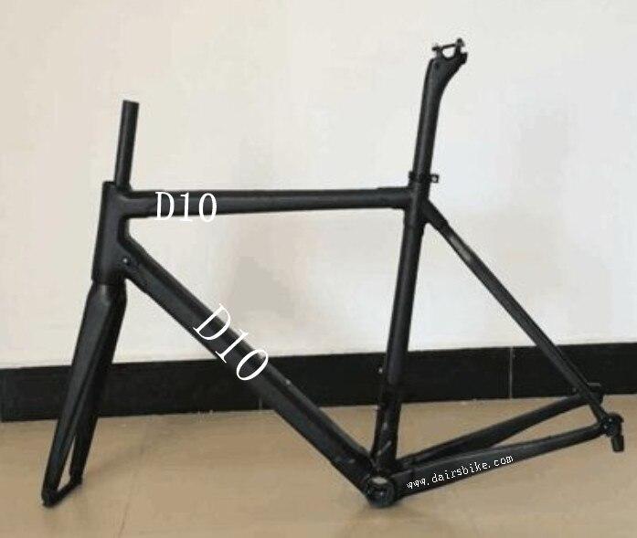 OEM carbon road bike di2 frame D10 bicycle 700C frame Headset: Top 1 1/8 Down 1 1/2cBSA /BB30 road frame