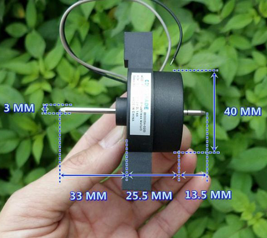 DC Brushless Motor 12V 4000RPM Built-in Driver Circuit Outer Rotor Motor DIY
