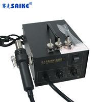 SAIKE 850 Hot air gun Soldering station Hot air desoldering station 220V