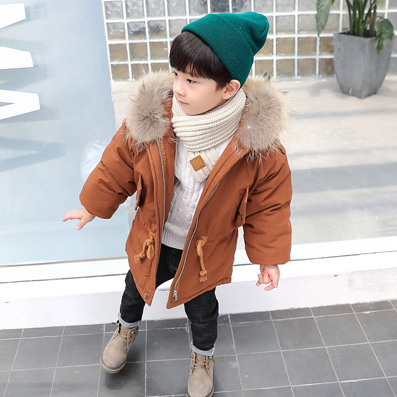 Boys Winter Jacket Coat Baby Bebe Children Kids Solid Color Parka Snowsuit Down Cotton Pad Clothes Hooded Coat Jacket winter jacket women 2016 fashion down cotton short slim solid color jacket and coat korean stand collar parka manteau femme