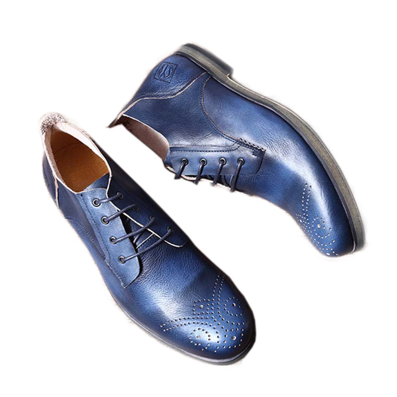 Spring Autumn Handmade Men Shoes Rub breathable Retro British Mens Shoes Leather Carved Casual Shoes Men Chaussures HommesSpring Autumn Handmade Men Shoes Rub breathable Retro British Mens Shoes Leather Carved Casual Shoes Men Chaussures Hommes