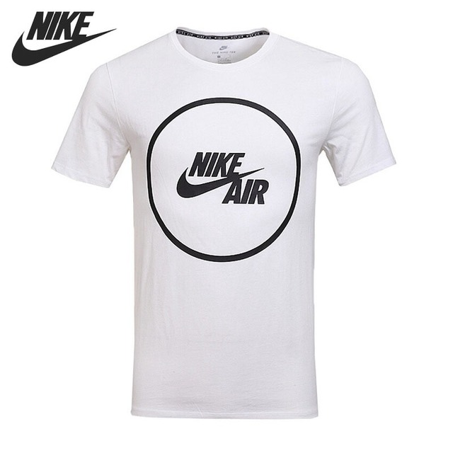 Original New Arrival 2018 NIKE Air Logo T-Shirt Men s T-shirts short sleeve  Sportswear 2721e68ecd8