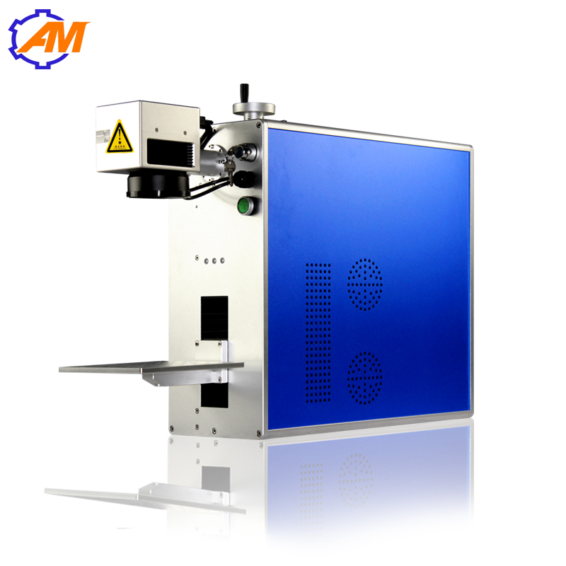 stainless steel metal plate aluminum silver gold fiber laser marking machine price 3d laser printer