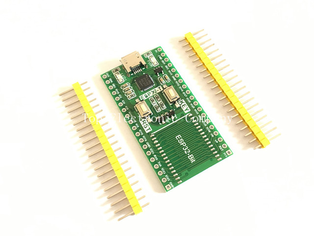 5PCS/LOT ESP32 module development board a key download ESP32-Bit/3212 Bluetooth WiFi|eBox Download