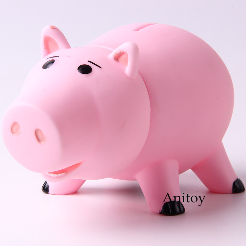 Story Hamm Pink Pig Coin Bank Money Saving Box Kids Piggy Bank PVC Action Figure Collectible Model Toy image