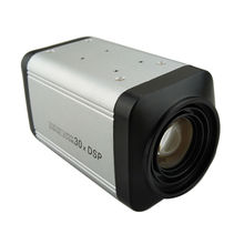 1200TVL Color Vari Focal BOX Security Camera 30X Optical Zoom DSP