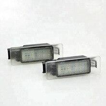 XYIVYG светодио дный светодиодные задние номерные знаки для мотоциклов лампы прозрачные линзы peugeot 207 308 хэтчбек купе Citroen Berlingo Estate Ван