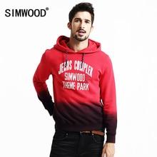 SIMWOOD 2016 Neue Herbst Winter sweatshirts männer mode street lässige mischfarben pullover hip-hop-trainingsanzüge WY8027