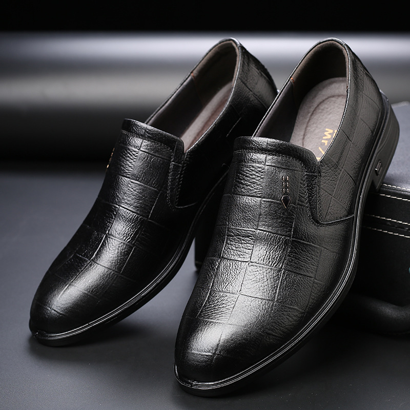 Marque Mariage Mode on Automne brown Printemps Qffaz Des Formelle D'affaires Hommes Chaussures Black Confortables De Robe Slip Pd5A5qSwzx