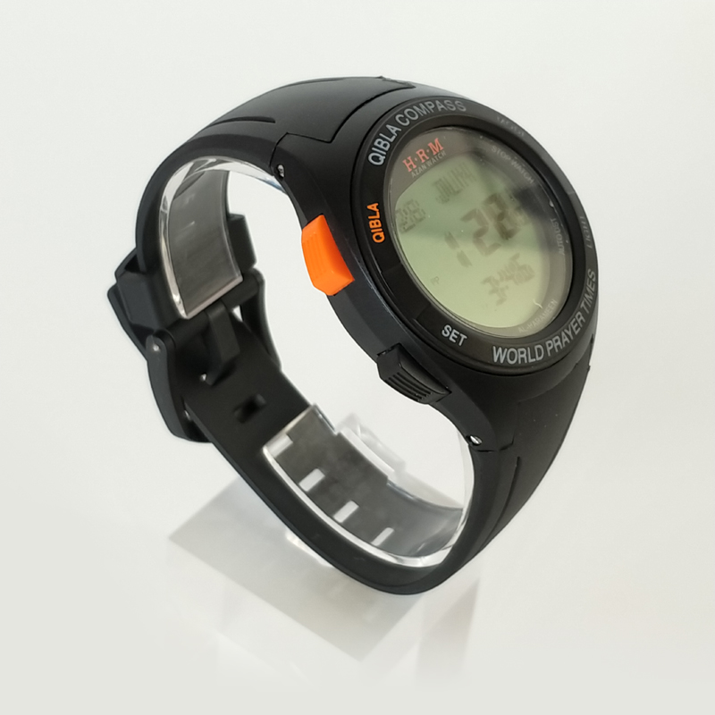 Digital Watches Waterproof Sport Watch With Prayer Alram And Hijri 6506 Azan Clock With Automatic Qibla Direction And Stopwatch Watches