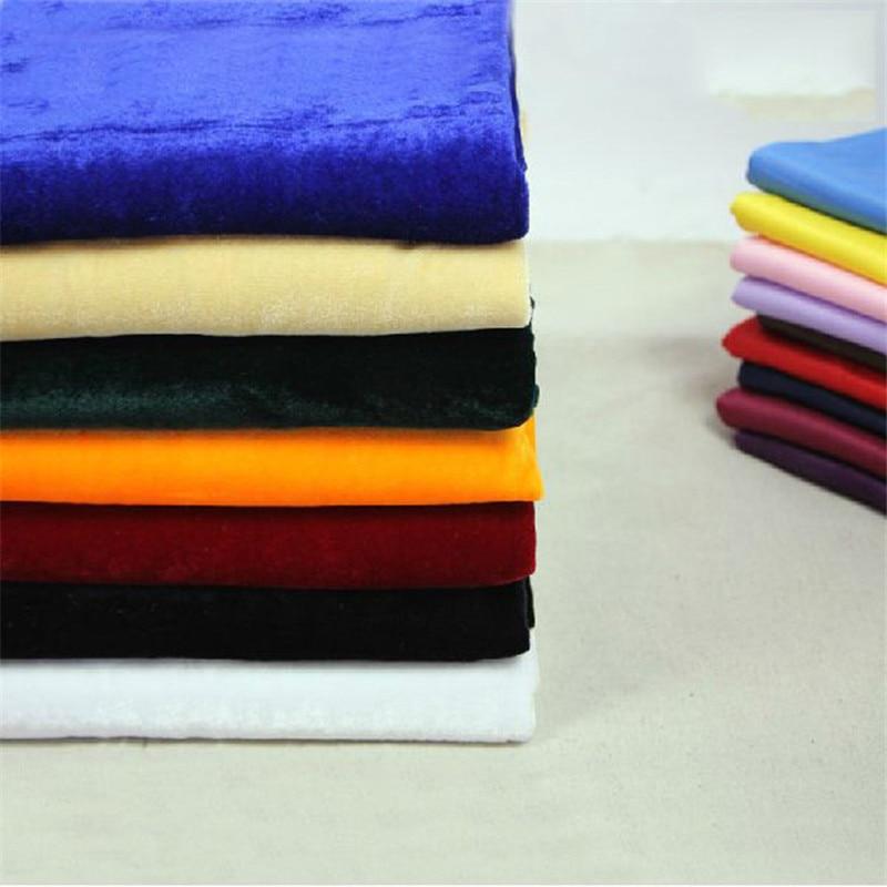 Levné vysoce kvalitní Vícebarevná sametová pletená tkanina Nádherná plst Šířka 170 cm 1 metr na jeden kus