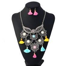 Богемский Ожерелье lzhlq с ангельским крылом массивное ожерелье