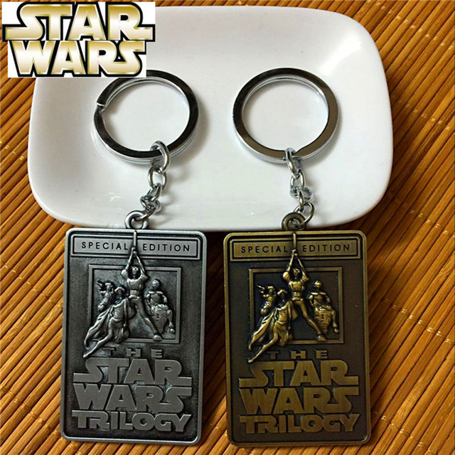 Star Wars Metal Keychain The Star Wars Trilogy (2 Colors)