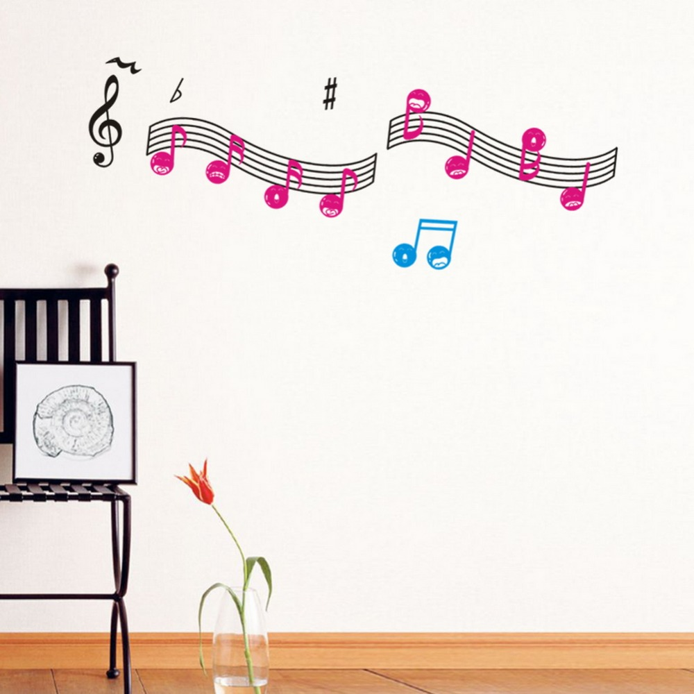 Music Classroom Wall Decorations ~ New styles background of music classroom wall art sticker