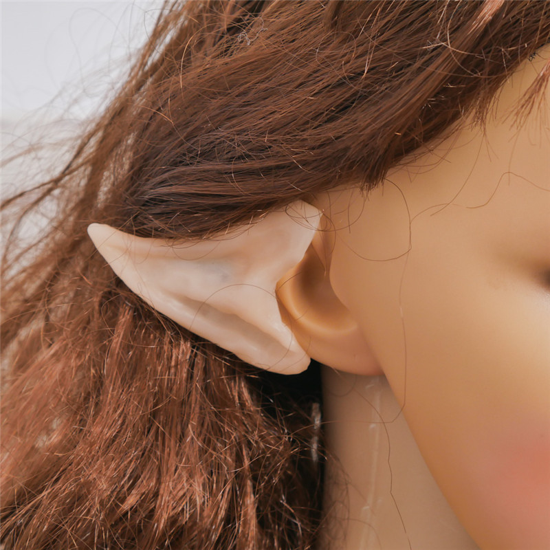 Unisex Soft Pointed Latex Ear Fake Ear Party Cosplay Accessories ILOE