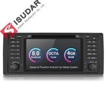 Isudar Автомобилая Штатная навигация Автомагнитола мультимедиа на android 8.0 1 Din с Сенсорным 7 Дюймовым Экраном для автомобилей BMW/E46/M3/MG/ZT/Rover 75 4 Ядра Радио видео FM/AM GPS Bluetooth с 4 Cores 16GB DSP