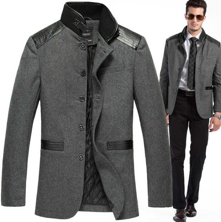 2016 New Style Men Leisure Suit Fashion Jacket Brand Coats