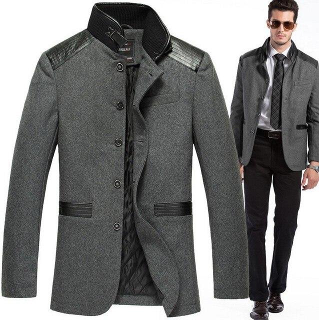1e3e4e54390 2016 New Style Men Leisure Suit Fashion Jacket Brand Coats casual coat  outdoor winter and autumn jacket designer men overcoat