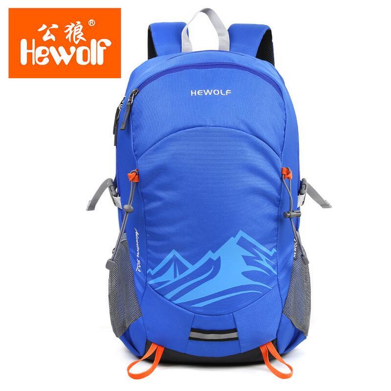 Hewolf montañismo recorrido Al Aire Libre bolsa mochila hombres y mujeres deport