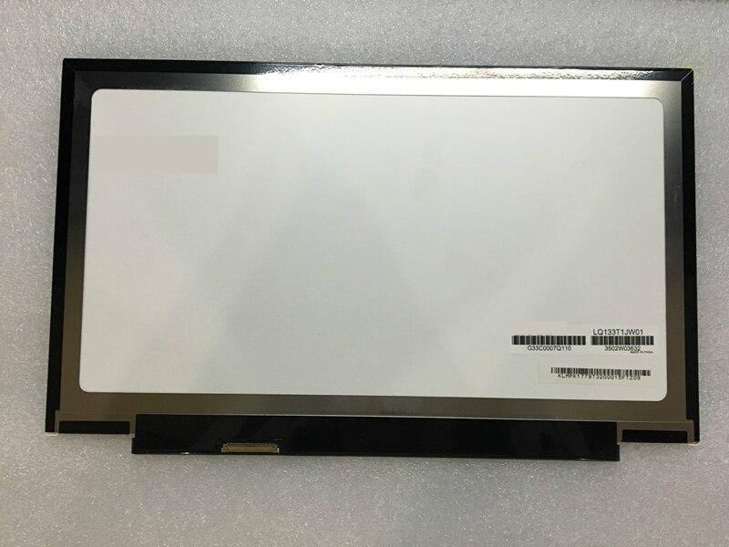 цена на free shipping 13.3Laptop LCD LED Screen Panel LQ133T1JW01 LQ133T1JX03 IPS for THOSHIBA V834 V832 led screen