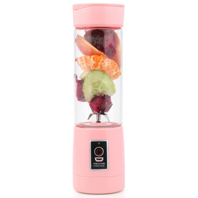 400Ml 6 Blades Mini Usb Rechargeable Portable Electric Fruit Juicer Smoothie Maker Blender Machine Sports Bottle Juicing Cup400Ml 6 Blades Mini Usb Rechargeable Portable Electric Fruit Juicer Smoothie Maker Blender Machine Sports Bottle Juicing Cup