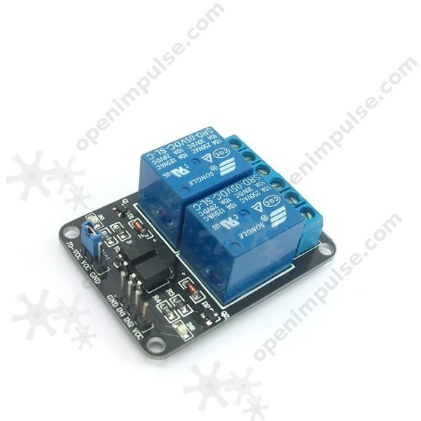 Hot selling! 5V 2-Channel Relay Module (Dual channel)  for Arduino PIC ARM DSP AVR Raspberry Pi