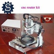 CNC router комплект металл фрезерный станок гравюра по металлу машины 300 Вт MACH3 2020 мини гравировальный станок