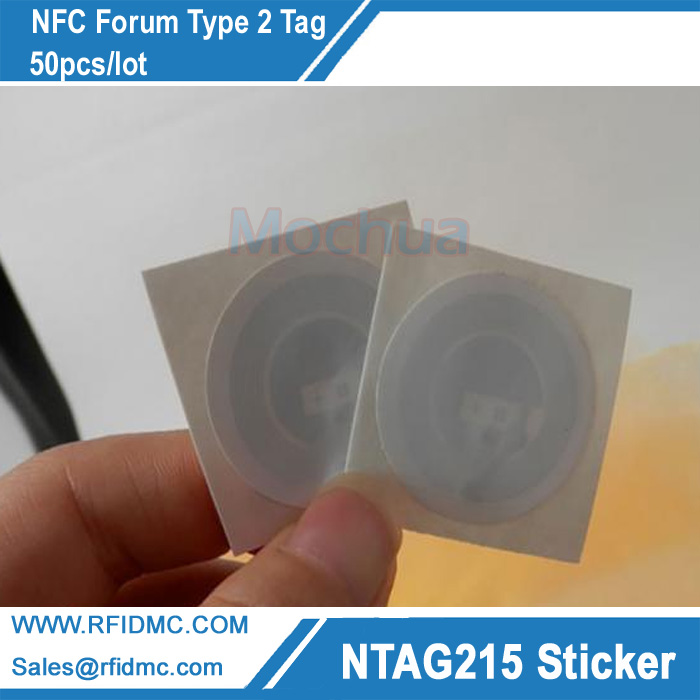 все цены на 50pcs NTAG215 chip NTAG215 lable for All NFC enabled devices онлайн