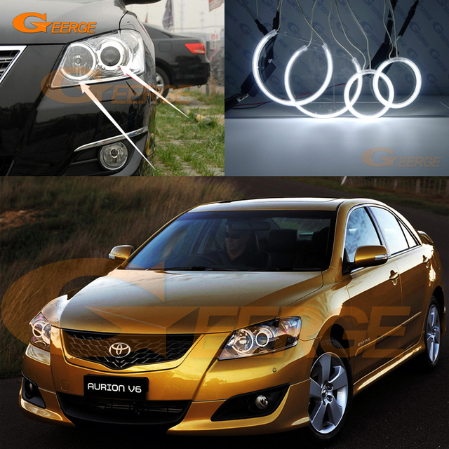 For Toyota Aurion 2006 2007 2008 2009 Camry Excellent Angel Eyes
