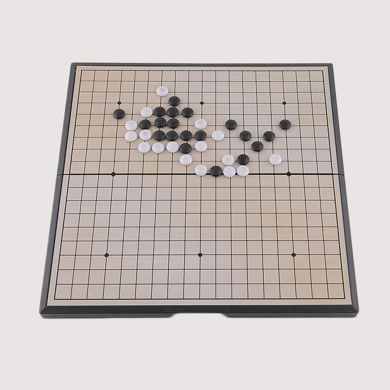 Quality Foldable Game Of Go Go Board Game WeiQi Baduk Full Set 19x19 Study Size*