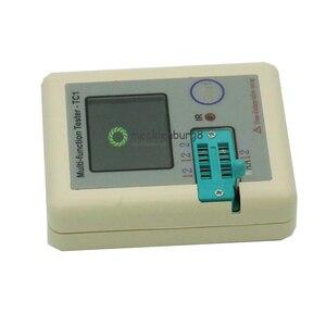 Image 2 - Transistor Tester TFT TC 1 Diode Triode Capacitance Meter LCR ESR Meter NPN PNP MOSFET IR Multifunction Tester Multimeter