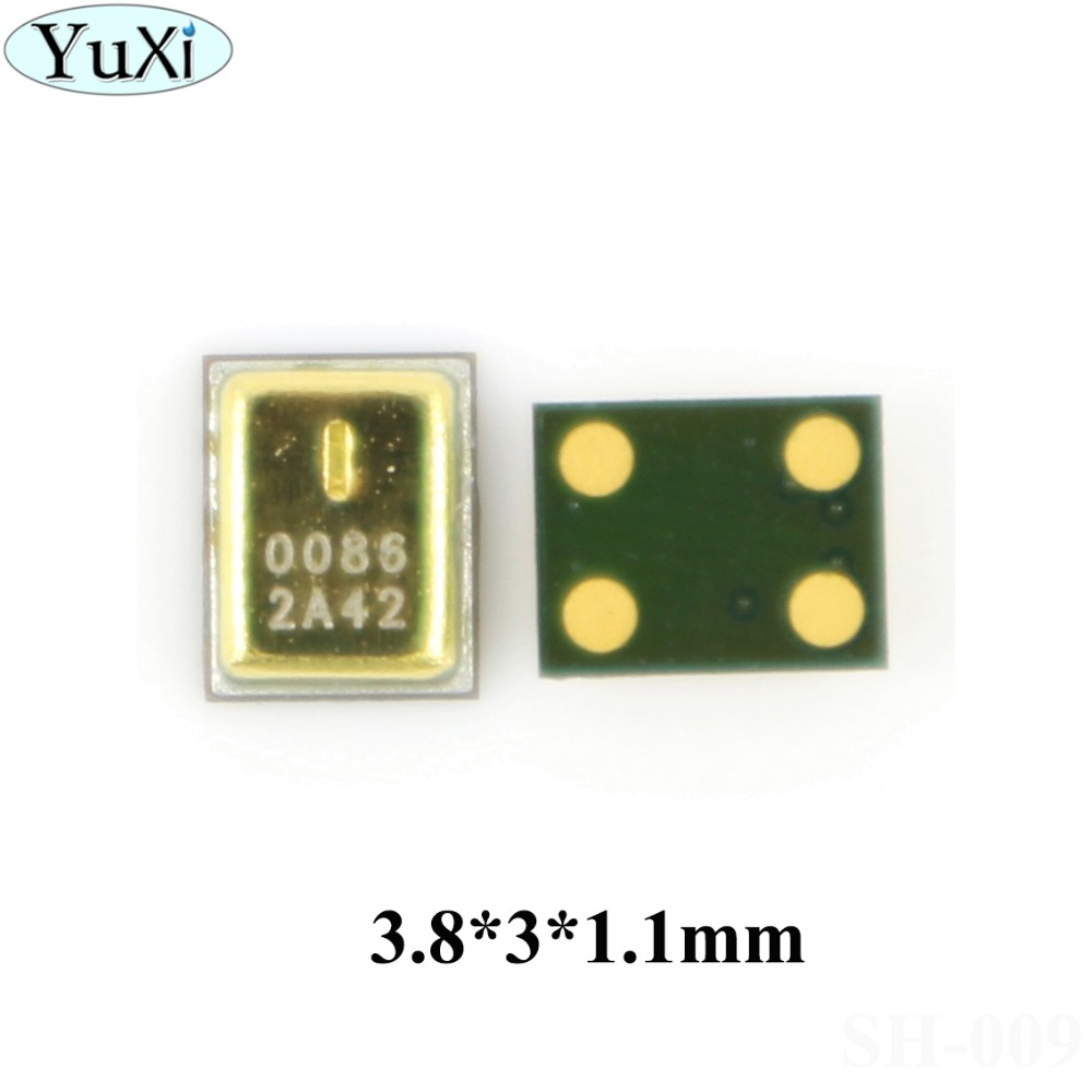 YuXi 2pcs/lot For <font><b>Samsung</b></font> Galaxy S3 i9300 i747 T999 D710 Note 2 N7100 Note2 Microphone Inner MIC Receiver Speaker Repair Part image