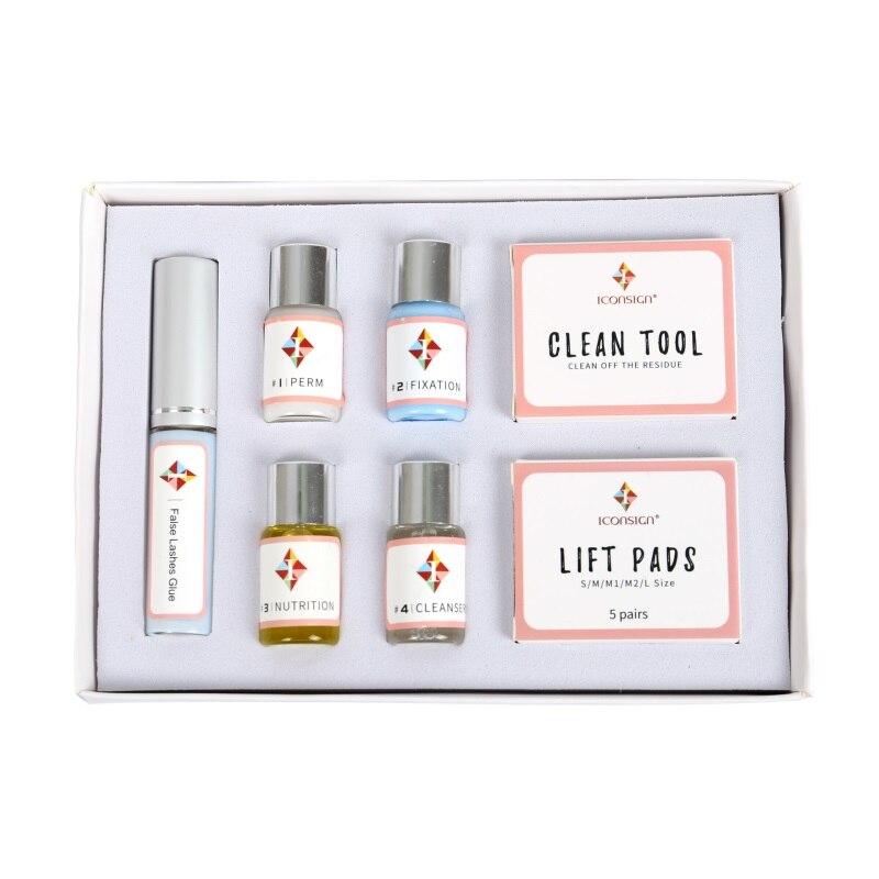 Mini Wimpern Dauerwelle Kit für wimpern heben Professionelle Zilien Lift Dauerwelle Set mit Stangen Kleber Schönheit Make-Up-Tools Geeignet salon